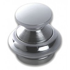 Chrome Pushbutton Catch 13mm